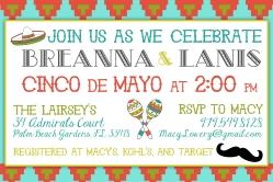 Cinco de Mayo Invitation