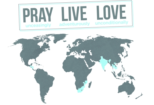 Pray Live Love // Fund the Nations T-shirt