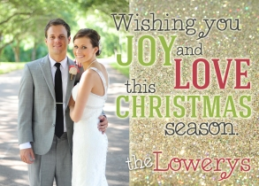 Lowery Christmas Card