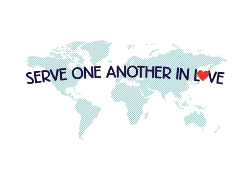 Serve One Another // Fund the Nations T-shirt