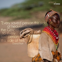 Owes the Gospel Africa Stories Art