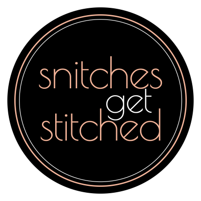 Snitches Get Stitched Logo