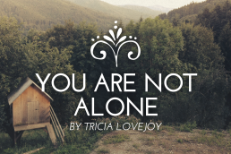 You Are Not Alone Flourish Blog Header