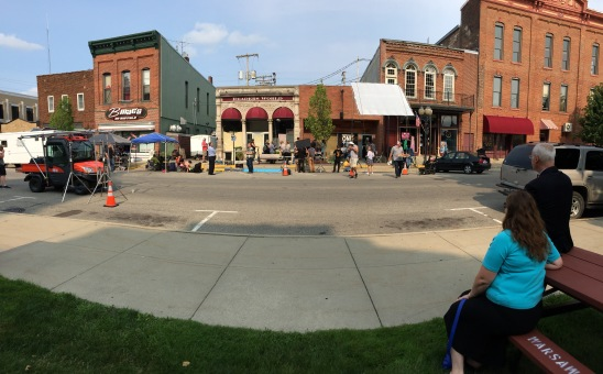 Shooting in Downtown Warsaw, IN